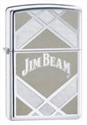 Широкая зажигалка Zippo Jim Beam 24550