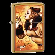 Широкая зажигалка Zippo Mazzi Zippo Windy 24745