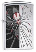 Широкая зажигалка Zippo Red-legged Spider 28795