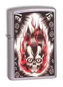 Широкая зажигалка Zippo Soul Crusher 21098
