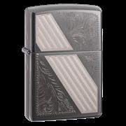 Широкая зажигалка Zippo Venetian Stripe 24038