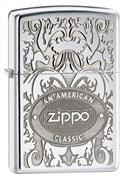 Широкая зажигалка Zippo American Classic 24751