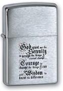 Широкая зажигалка Zippo Библия 200