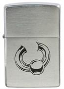 Широкая зажигалка Zippo Body jewelry 200