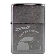 Широкая зажигалка Zippo Hunter Edition 200