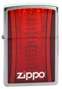Широкая зажигалка Zippo Logo Z -2 200