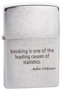 Широкая зажигалка Zippo Smoking.. 200