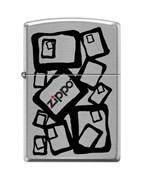 Широкая зажигалка Zippo ZIPPO2 200