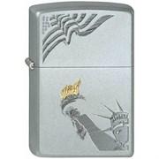 Широкая зажигалка Zippo Lady Liberty 205