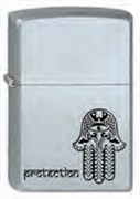 Широкая зажигалка Zippo Protection 205
