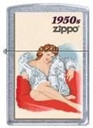 Широкая зажигалка Zippo Pin Up 1950 224