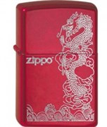 Широкая зажигалка Zippo Dragon 21063