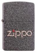 Широкая зажигалка Zippo Logo 211