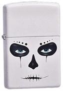 Широкая зажигалка Zippo Skull Mask 214