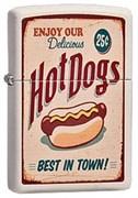 Широкая зажигалка Zippo Hot Dog 216