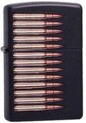 Широкая зажигалка Zippo Bullets 218