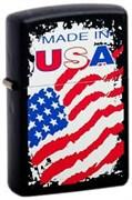 Широкая зажигалка Zippo MDE in USA 218