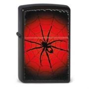 Широкая зажигалка Zippo Red Web 218