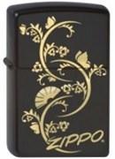 Широкая зажигалка Zippo Zippo Floral 218