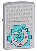 Широкая зажигалка Zippo Painted Lizard 24455