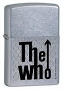 Широкая зажигалка Zippo The who 24558
