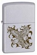 Широкая зажигалка Zippo Eagle 24910