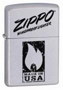 Широкая зажигалка Zippo Windproof 24918