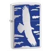 Широкая зажигалка Zippo Flying eagle 24925