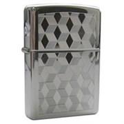Широкая зажигалка Zippo Cubes 262