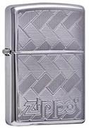 Широкая зажигалка Zippo Diagonal weave 263