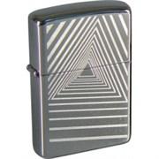 Широкая зажигалка Zippo Geometric 272