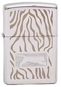 Широкая зажигалка Zippo Tiger Skin 299