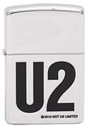 Широкая зажигалка Zippo U2 302