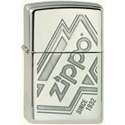Широкая зажигалка Zippo Logo 319