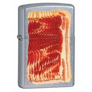 Широкая зажигалка Zippo Bacon 28130