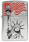 Широкая зажигалка Zippo Americana 28147