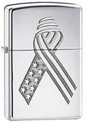 Широкая зажигалка Zippo Ribbon 28367
