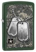 Широкая зажигалка Zippo US Army 28513