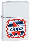 Широкая зажигалка Zippo Vintage logo 28558