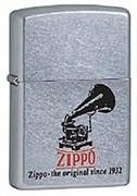 Широкая зажигалка Zippo Phonograph 28566