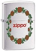 Широкая зажигалка Zippo Rose 28568