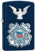 Широкая зажигалка Zippo USCG 28681