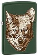 Широкая зажигалка Zippo Wolf 28717