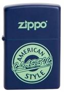 Широкая зажигалка Zippo American classic 28765