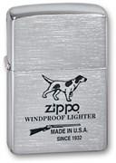 Широкая зажигалка Zippo Hunting Tools 200