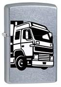 Широкая зажигалка Zippo European Truck 29226