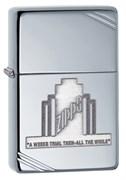 Широкая зажигалка Zippo A Weeks Trial vintage AC 28451