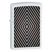 Широкая зажигалка Zippo Diamond Bullseye 28039