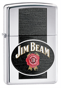 Широкая зажигалка Zippo Jim Beam 28071