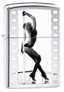 Широкая зажигалка Zippo Pole Dancer 28448